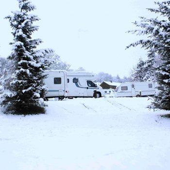 Snow Caravan Storage