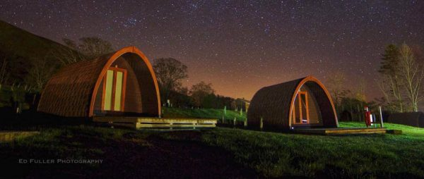 pods at night