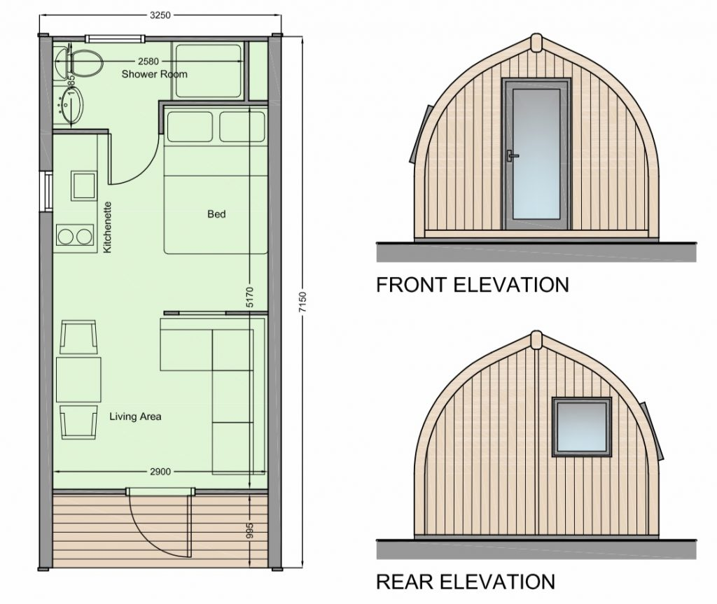 New Glamping Cabin