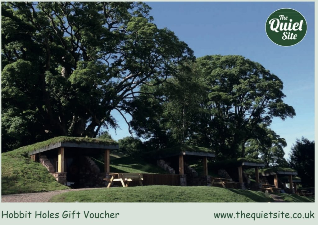 Hobbit Hole Experience Vouchers and Quiet Gift Vouchers