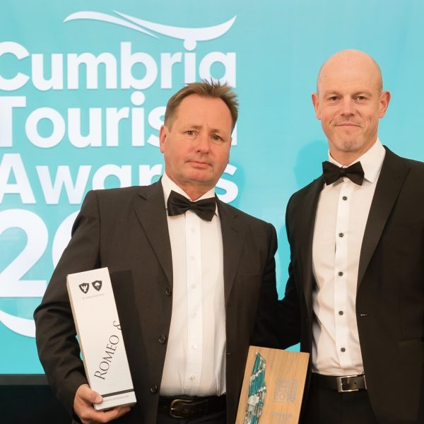 Daniel Holder Cumbria Tourism Awards