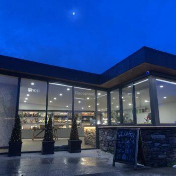 The Quite Site Eco Shop evening