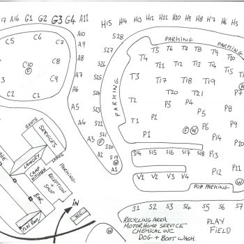The Quite Site plan map