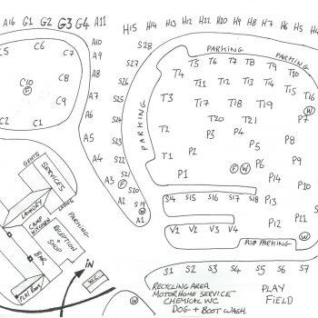 The Quite Site plan