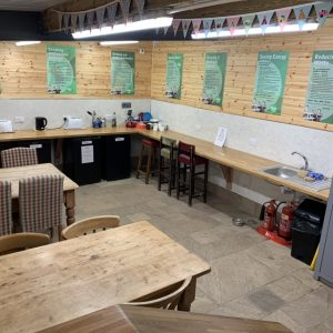 The Quiet Site Ullswater kitchen